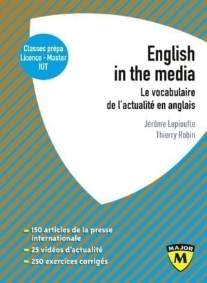 English in the media - Collection Major - Editions Belin Education
