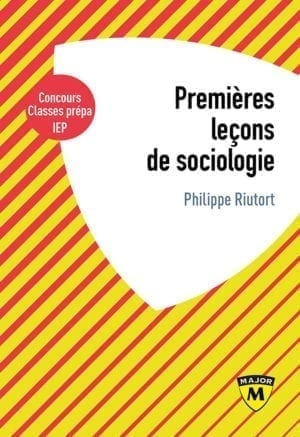 Premières leçons de sociologie - Collection Major - Editions Belin Education