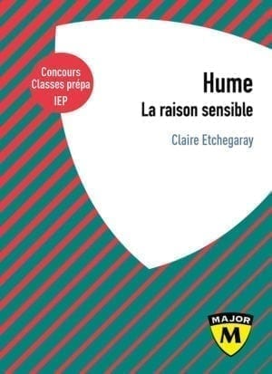 Hume, la raison sensible - Collection Major - Editions Belin Education